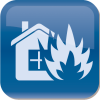 fire damage service icon