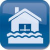 water damage restoration icon