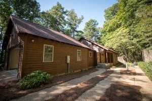 fire damage cabin repair